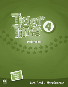 Tiger Time Level 4 Teacher's Book Pack av Carol Read og Mark Ormerod (Blandet mediaprodukt)