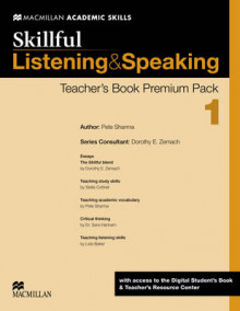 Skillful 1 (Pre-Intermediate) Listening and Speaking Teacher's Book with Digital Student's Book & Online Practice av Steve Gershon, Mike Boyle, Jennifer Bixby, Lida Baker, Jennifer Wilkin, Louis Rogers, David Bohlke, Lindsay Clandfield, Jaimie Scanlon og Mark McKinnon (Blandet mediaprodukt)