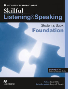 Skillful Foundation Level Listening & Speaking Student's Book Pack av Steve Gershon, Louis Rogers, David Bohlke, Robyn Brinks Lockwood, Lindsay Clandfield, Jaimie Scanlon, Mark McKinnon, Lindsay Warwick, Ellen Kisslinger og Mike Boyle (Blandet mediaprodukt)