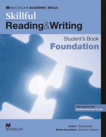 Skillful Foundation Level Reading & Writing Student's Book Pack av Steve Gershon, Louis Rogers, David Bohlke, Robyn Brinks Lockwood, Lindsay Clandfield, Jaimie Scanlon, Mark McKinnon, Lindsay Warwick, Ellen Kisslinger og Mike Boyle (Blandet mediaprodukt)