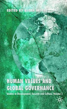 Human Values and Global Governance (Innbundet)
