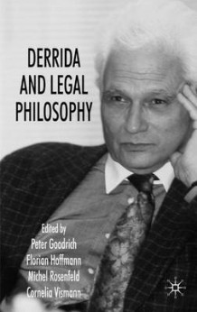 Derrida and Legal Philosophy (Innbundet)