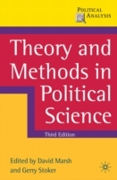 Omslag - Theory and Methods in Political Science
