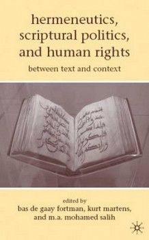 Hermeneutics, Scriptural Politics, and Human Rights (Innbundet)
