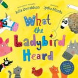 Omslag - What the ladybird heard