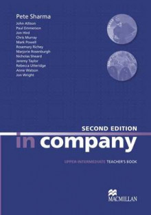 In Company Upper Intermediate Teacher Book av Simon Clarke, Mark Powell og Pete Sharma (Heftet)