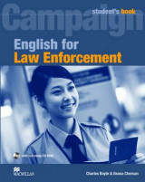 Omslag - English for Law Enforcement Student book and CD-ROM Pack