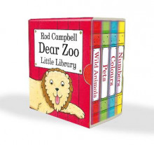 Dear Zoo Little Library av Rod Campbell (Samlepakke)
