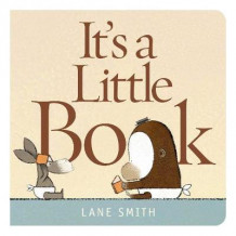 It's a Little Book av Lane Smith (Pappbok)