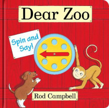 Dear Zoo Spin and Say av Rod Campbell (Pappbok)