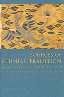Omslag - Sources of Chinese Tradition: Volume 1
