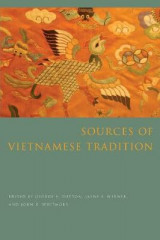 Omslag - Sources of Vietnamese Tradition