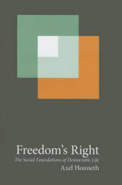 Freedom's Right av Axel Honneth (Innbundet)