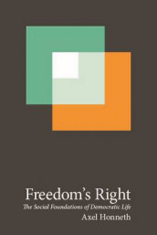 Freedom's Right av Axel Honneth (Heftet)
