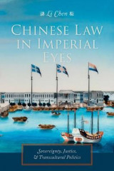 Omslag - Chinese Law in Imperial Eyes