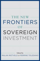 Omslag - The New Frontiers of Sovereign Investment