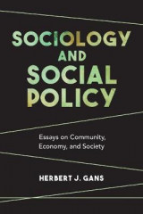 Omslag - Sociology and Social Policy