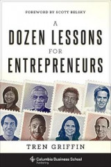 Omslag - A Dozen Lessons for Entrepreneurs