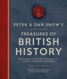 The Peter & Dan Snow's Treasures of British History av Peter Snow og Dan Snow (Innbundet)