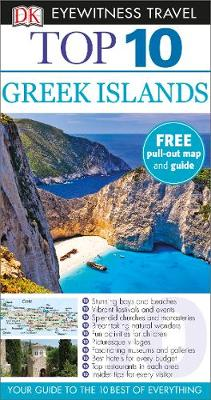 DK Eyewitness Top 10 Travel Guide: Greek Islands av DK Publishing (Heftet)