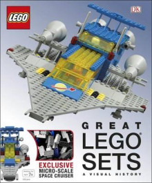 Great LEGO (R) Sets A Visual History av DK, Daniel Lipkowitz og Helen Murray (Innbundet)