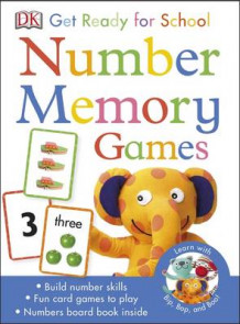 Get Ready for School Number Memory Games av DK (Undervisningskort)
