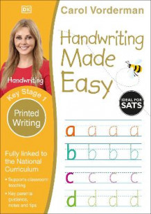 Handwriting Made Easy Printed Writing KS1 av Carol Vorderman (Heftet)