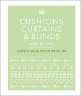 Omslag - Cushions, Curtains and Blinds Step by Step