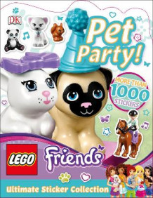 LEGO Friends Pet Party! Ultimate Sticker Collection av DK og Helen Murray (Heftet)