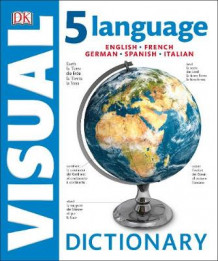 5 Language Visual Dictionary av DK (Innbundet)