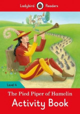 Omslag - The Pied Piper Activity Book - Ladybird Readers: Level 4