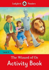 Omslag - The Wizard of Oz Activity Book - Ladybird Readers: Level 4