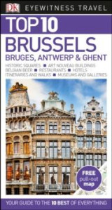 Omslag - DK Eyewitness Top 10 Travel Guide Brussels, Bruges, Antwerp & Ghent