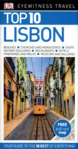 Omslag - DK Eyewitness Top 10 Travel Guide Lisbon
