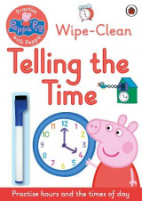 Omslag - Peppa Pig: Practise with Peppa: Wipe-Clean Telling the Time