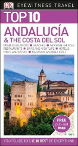 Omslag - DK Eyewitness Top 10 Travel Guide Andalucia & The Costa Del Sol