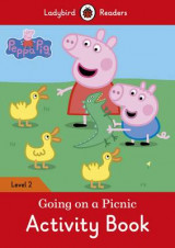 Omslag - Peppa Pig: Going on a Picnic Activity Book - Ladybird Readers Level 2