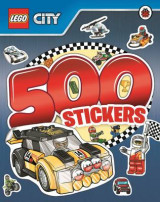 Omslag - LEGO City: 500 Stickers