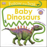 Omslag - Follow the Trail Baby Dinosaurs