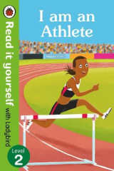 Omslag - I am an Athlete - Read It Yourself with Ladybird Level 2