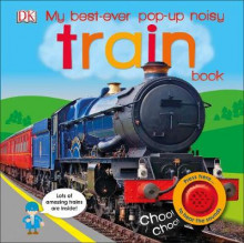 My Best-Ever Pop-Up Noisy Train Book av DK (Pappbok)