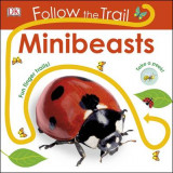 Omslag - Follow the Trail Mini Beasts