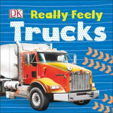 Really Feely Trucks av DK (Pappbok)