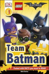 Omslag - DK Reader Level 1: The LEGO Batman Movie Team Batman