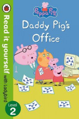 Omslag - Peppa Pig: Daddy Pig's Office - Read It Yourself with Ladybird Level 2