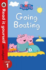 Omslag - Peppa Pig: Going Boating - Read it Yourself with Ladybird Level 1