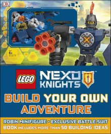 LEGO NEXO KNIGHTS Build Your Own Adventure av DK og Simon Hugo (Innbundet)