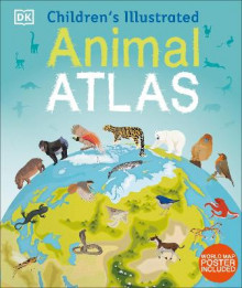 Childrens illustrated animal atlas av Dk, (Innbundet)