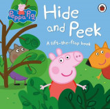 Omslag - Peppa Pig: Hide and Peek: A lift-the-flap book
