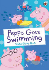 Omslag - Peppa Goes Swimming